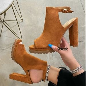 Just In 💓 Jackie's Heel  - Camel